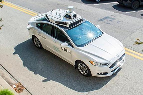 Uber向加州政府申请无人驾驶上路许可证