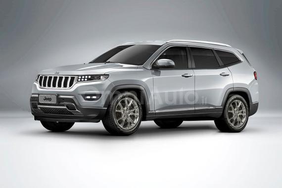 有望2019年亮相 新Jeep大瓦格尼假想图