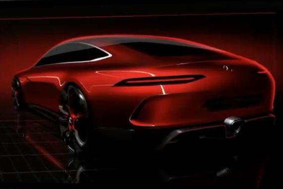 视频:AMG GT概念车 或2018年量产