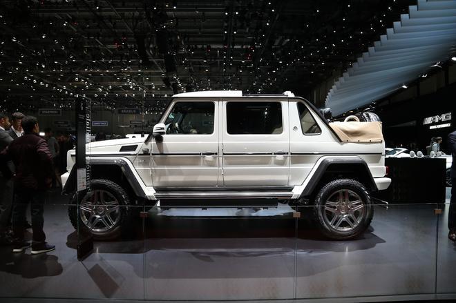 2017日内瓦:迈巴赫G 650 Landaulet亮相