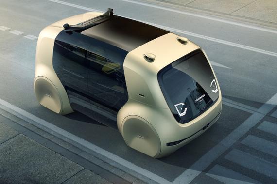 大众发布全自动驾驶概念车Sedric