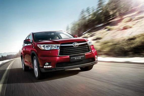 1月SUV销量排行榜 汉兰达创历史新高