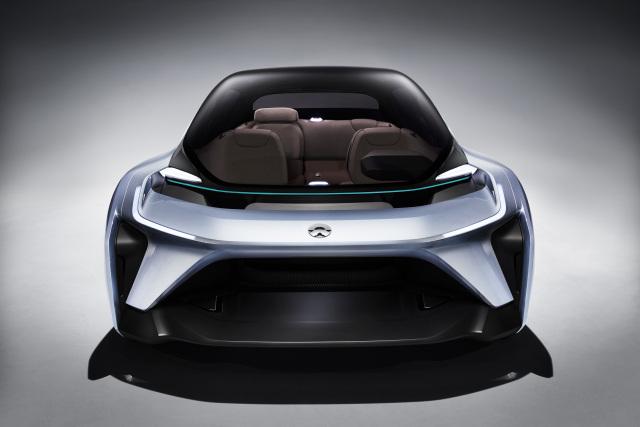 蔚来发布北美战略及首款概念车 EVE