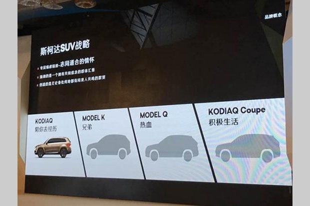首推柯迪亚克 斯柯达四款全新SUV计划
