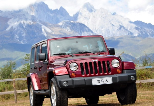 共涉及6855辆 部分Jeep牧马人车型召回