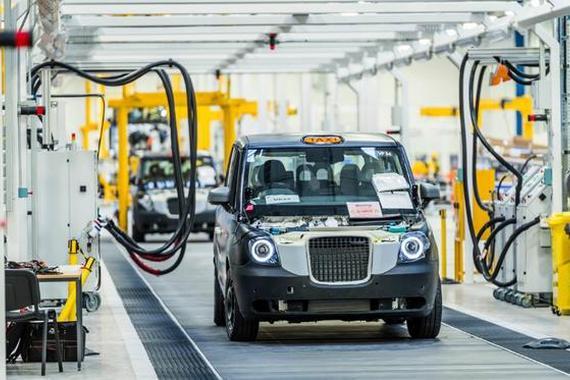 吉利英国开工 伦敦黑色出租车开启电动旅程