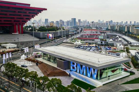 """全新上海体验中心揭幕 BMW玩起体验营销""""新花样"""""""