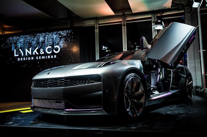 LYNK & CO品牌概念车中国首秀