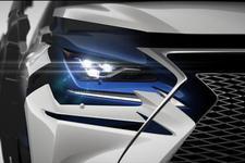 新雷克萨斯NX 上海车展将首发