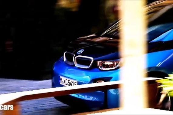 视频:用电动宝马 BMW i3 也能漂移