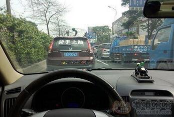 每日趣图|高速偶遇骷髅人搭便车