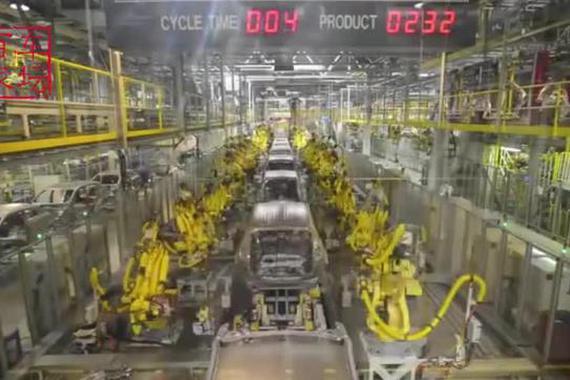 视频:起亚SUV 狮跑生产过程!