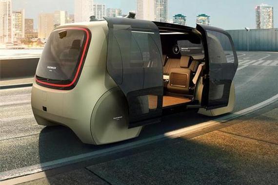 厉害了!大众发布首辆无人驾驶智能出租车