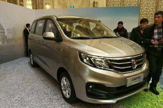 金杯前驱平台MPV F50上海车展将亮相