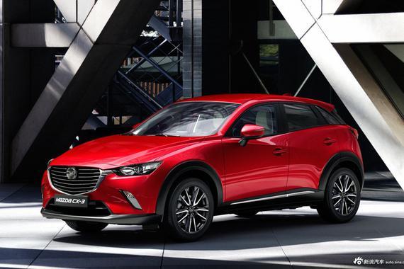 全新小型SUV 马自达CX-3将进口国内