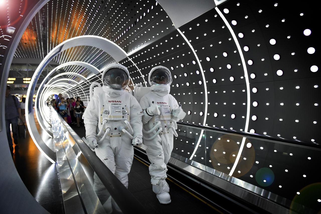 日产智行科技旗舰体验馆开启时空穿越之旅