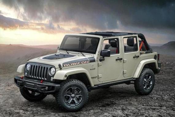 Jeep<em>牧马人</em><em>Rubicon</em> Recon特别版