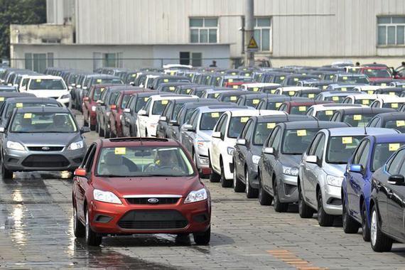 福特Q1在华销量同比下降21%