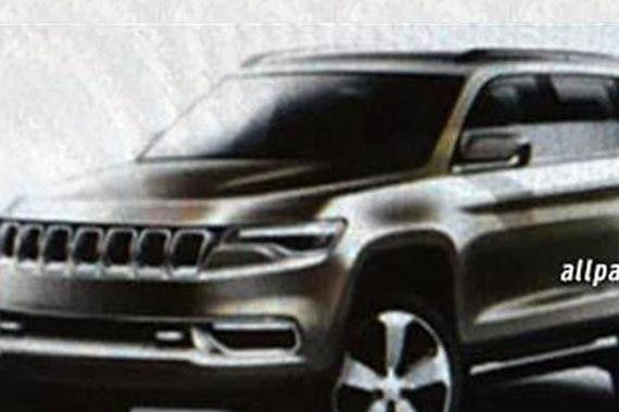 Jeep混合动力全新概念SUV亮相上海车展