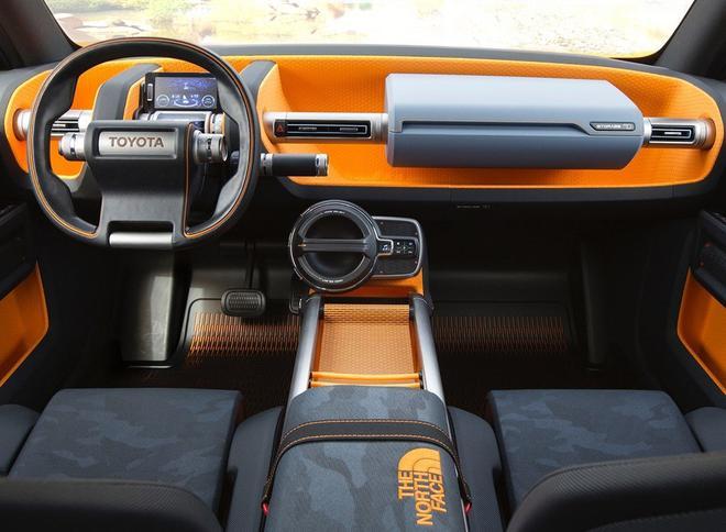 丰田FT-4X概念车发布 设计前卫造型复古