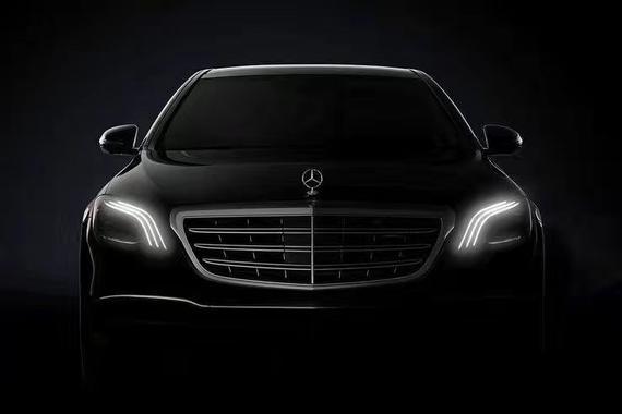 奔驰新款S级预览图放出 上海车展全球首发