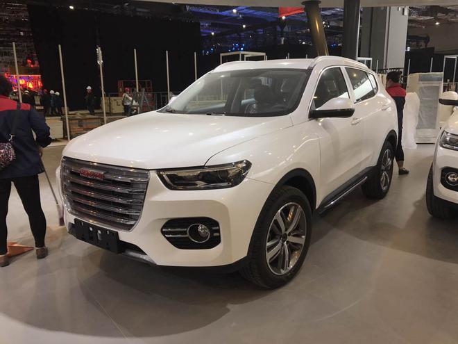 2017上海车展探馆:全新哈弗H6红标版