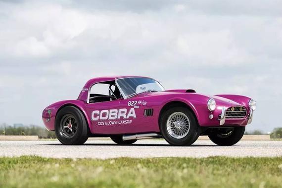 最成功的Cobra直线竞速赛车