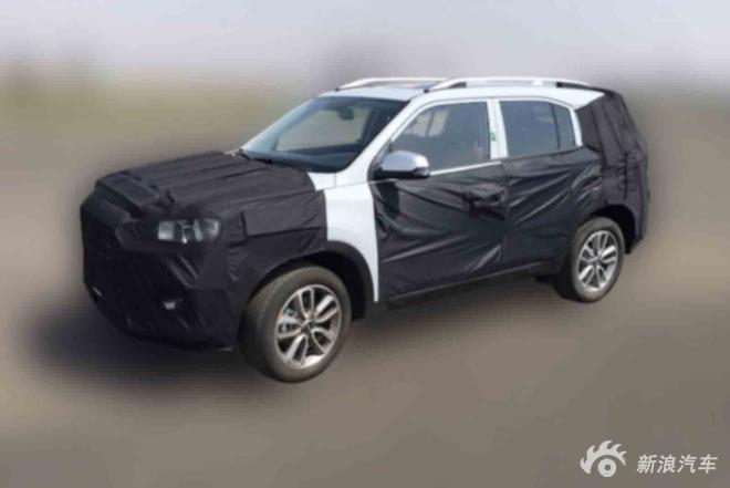 上海车展全球首发 北京现代全新SUV谍照
