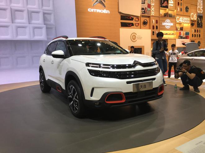 2017上海车展探馆:东风雪铁龙C5 AIRCROSS