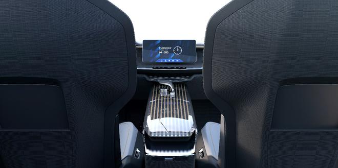 颇具未来设计感 吉利MPV概念车官图曝光