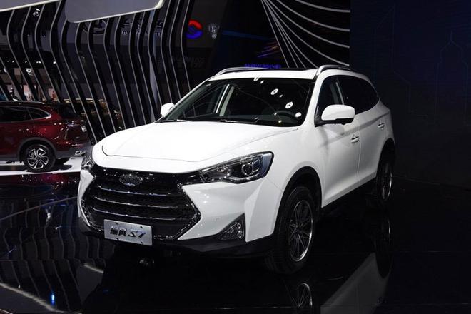 江淮瑞风S7上海车展启动预售