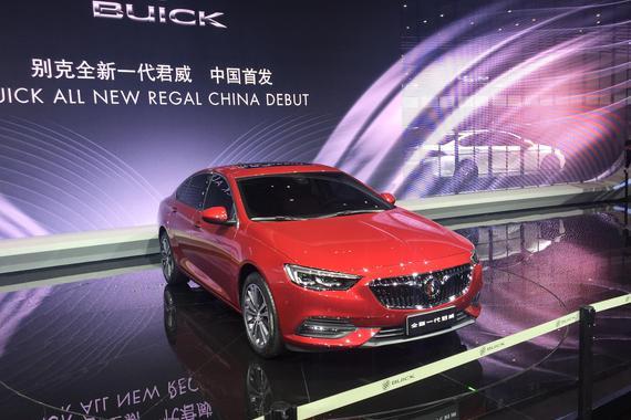 2017上海车展:别克全新一代君威发布