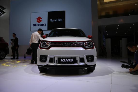 IGNIS领衔铃木上海车展阵容 定位小型SUV
