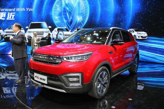 上海车展新车解析 长安CS55