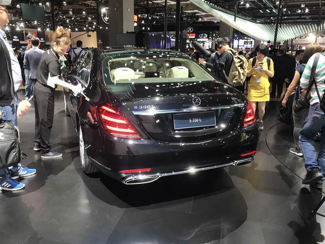 新款奔驰S级全球首发 外观识别度更高