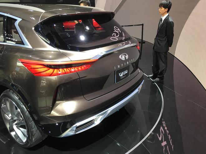 英菲尼迪QX50概念车正式亮相上海车展