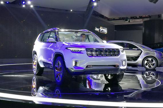 2017上海车展:Jeep云图概念车亮相