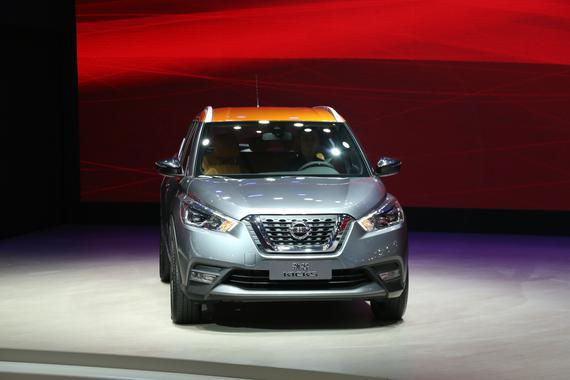 东风日产Kicks劲客发布 全新小型SUV