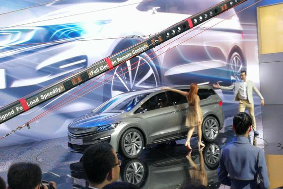 2017上海车展:吉利首款MPV概念车亮相