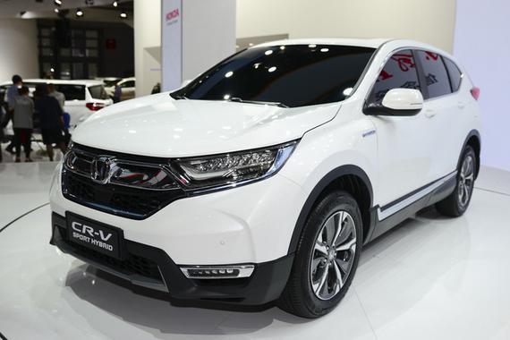 2017上海车展 东风本田新CR-V