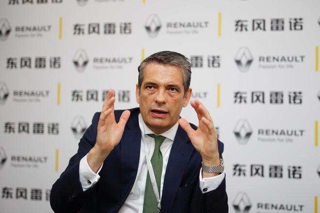 雷诺执行副总裁、首席绩效官 Stefan MUELLER