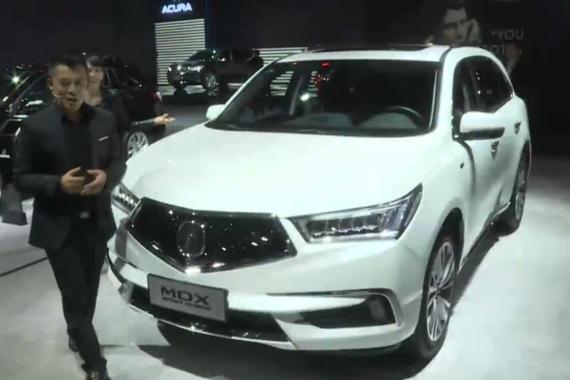 视频:上海车展之全面解析MDX内饰和空间