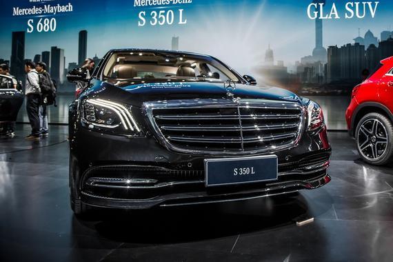 2017上海车展之奔驰S350L