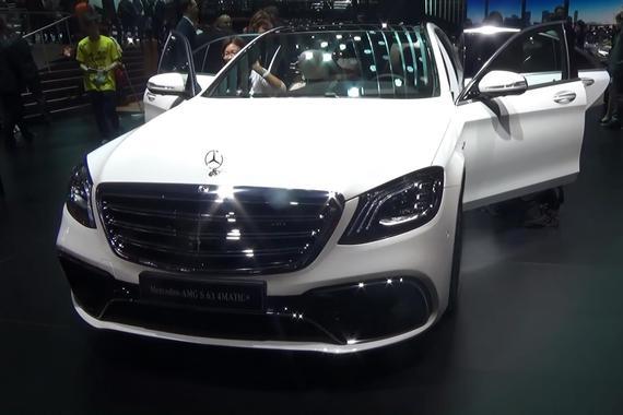2017上海车展之奔驰AMG S63