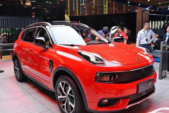 从上海车展看WEY VV7与领克01谁更受欢迎?