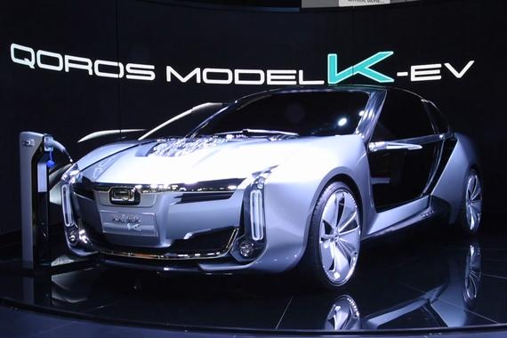 [汽车黑科技]车展聊观致K-EV