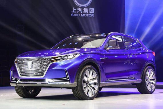 量产版2018年上市 荣威Vision-E概念车
