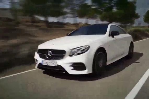 视频:很优雅 奔驰新E级Coupe发布
