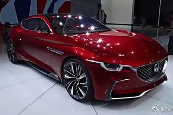 名爵MG E-motion概念车亮相