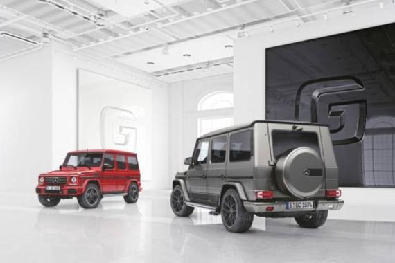 奔驰G级再填两款专属车型,给土豪多种选择